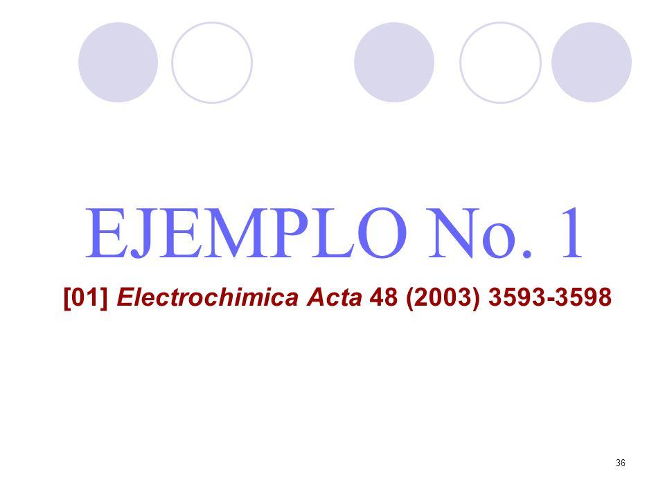 [01] Electrochimica Acta 48 (2003) 3593-3598